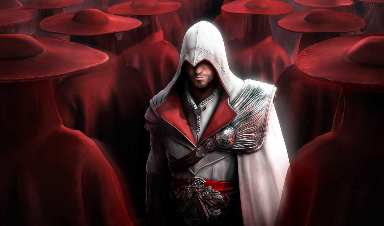 assassin, creed, brotherhood, крови, game, игры,