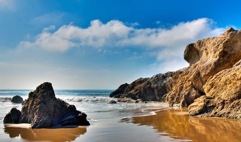 malibu, пляж, сша, fame, наслаждаемся, рисунок, получил,