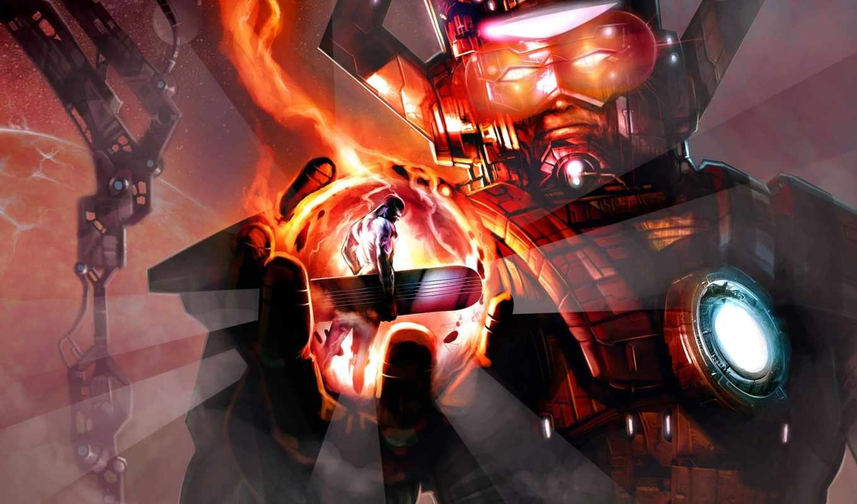 marvel, ultimate, alliance, desktop, click, surfer, silver, download, galactus, part, comics, how, right, select, link,