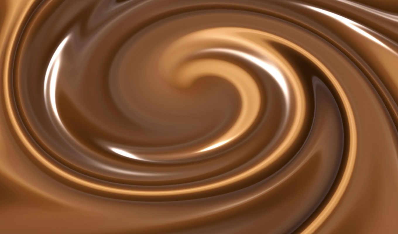 chocolate, swirl, кб, stock, swirls, dark, melted,