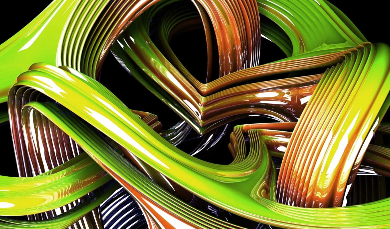 abstract, ipad, графика, green, hinh,