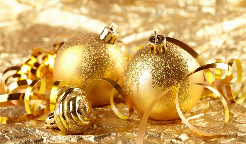 новогодние, украшения,