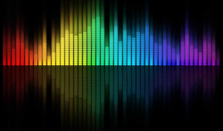 ,музыка, фон, эквалайзер, цвета, desktop,