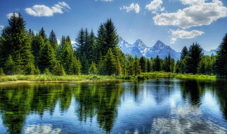 , lake, природа, горы, озеро, photography, лес,