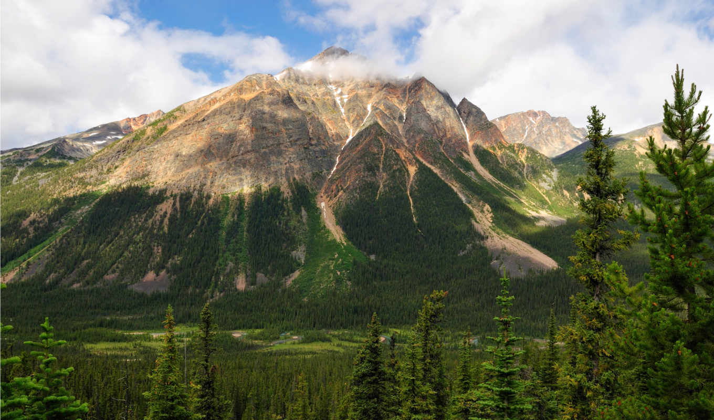 park, national, jasper, канада, природы,
