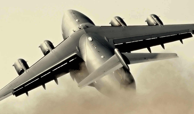 hercules, военный, самолёт, lockheed, plan, take, extreme, off,