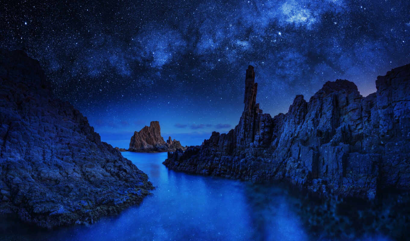blue, pictures, rock,