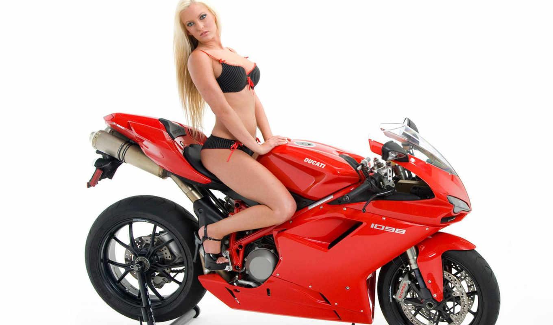 девушки, мото, мотоциклы, девушек,