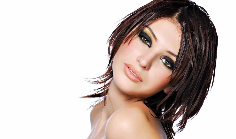 макияж, глаз, красивые, глаза, маленьких, узких, волосы, дымчатый,