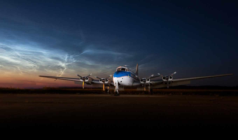 самолёт, wide, plane, havilland