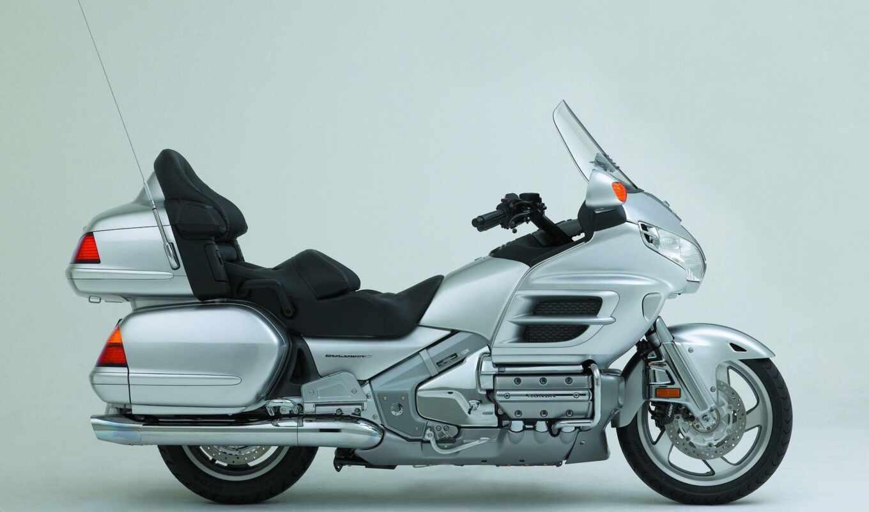 honda, gold, крыло, comfort, goldw, bike, audio