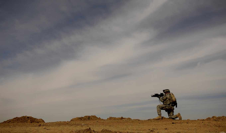 rifle, sniper, sky, download, desktop, military,