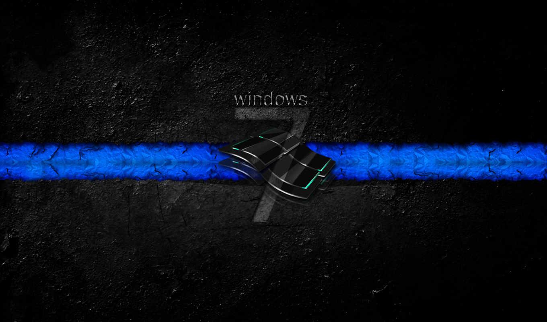 windows, fondos, seven, pantalla,
