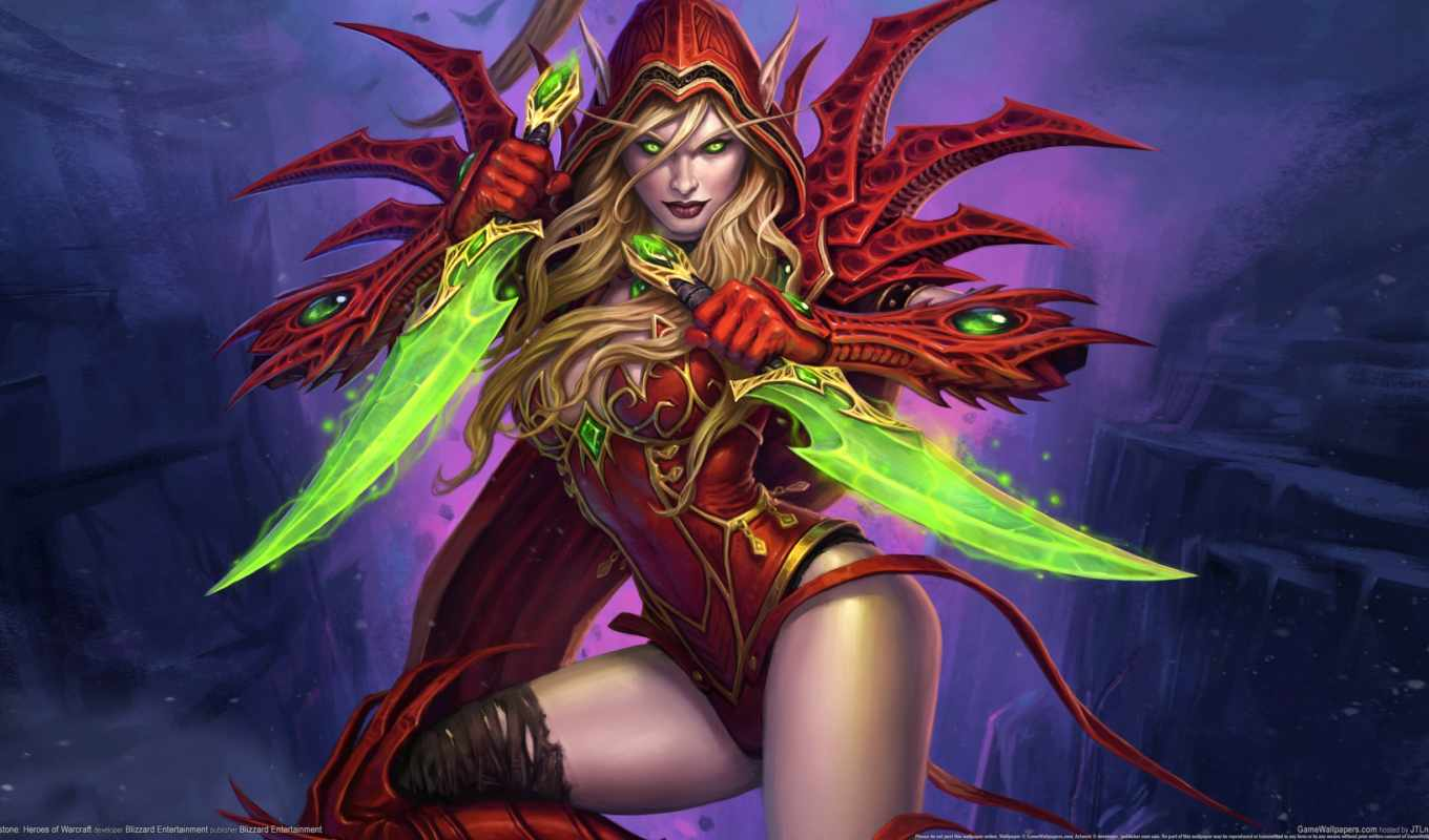 hearthstone, warcraft, heroes, art,