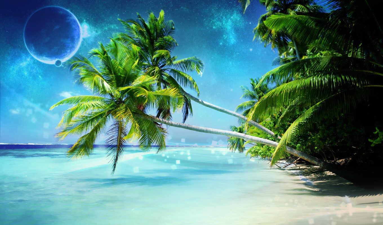 пляж, free, full, pictures, природа,