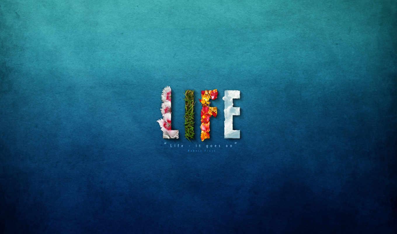 life, goes, сингл, музыка, трава, цветы,
