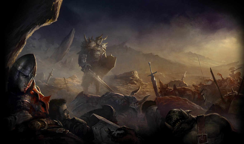 битва, воин, последний, после, fantasy, left, desktop, кб,
