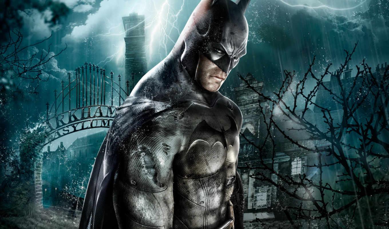 игры, batman, красивые, arkham, asylum, game, игр, компьютерных, бесплатные, качественные,
