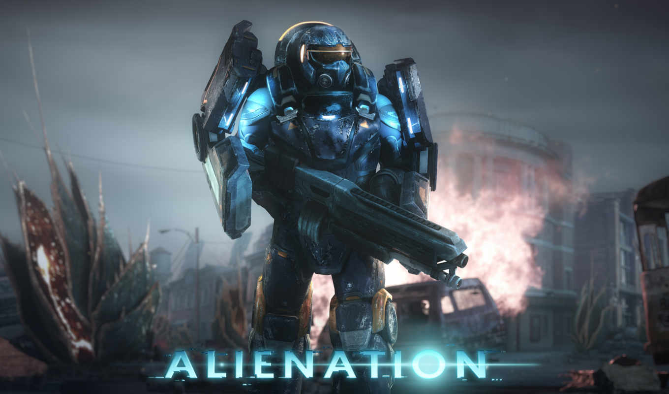 alienation, exclusive, playstation, this, пуш, gameplay,