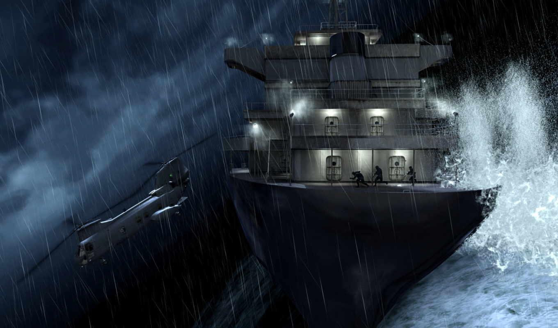 колл, duty, warfare, современный, военный, cod, волна, корабль, helicopters, долга, modernen,