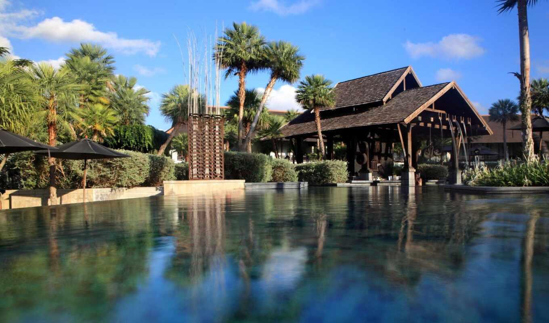 бассейн, погода, октябрь, са, температура, water, slate, люкс, hotel, reflect, villa