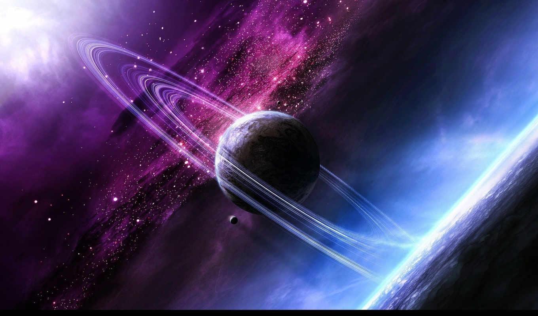 вселенная, космос, планета, звезды, картинку, картинка,
