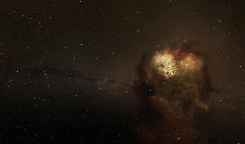туманность, скопление, звезды, картинка, картинку, космос,