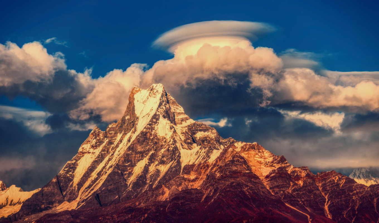 nepal, гималаи, горы, гора, аннапурна, массив,