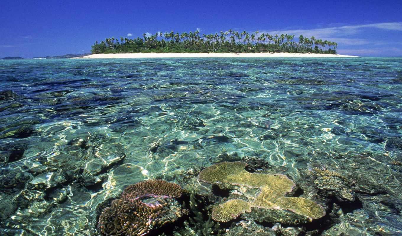 fiji, острова, земле, островов,