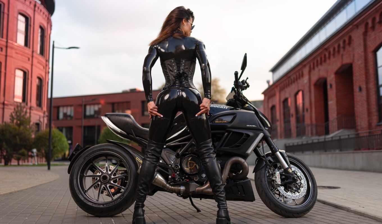 biker, bike, мотоцикл, девушка, sexy, идея, babe, латекс, leather, kova, супер