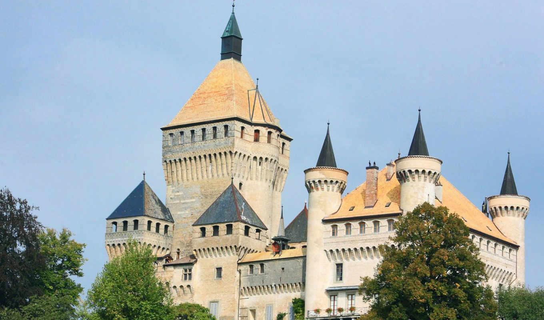 svájc, дворцы, kastély, zsazsa, vufflens,