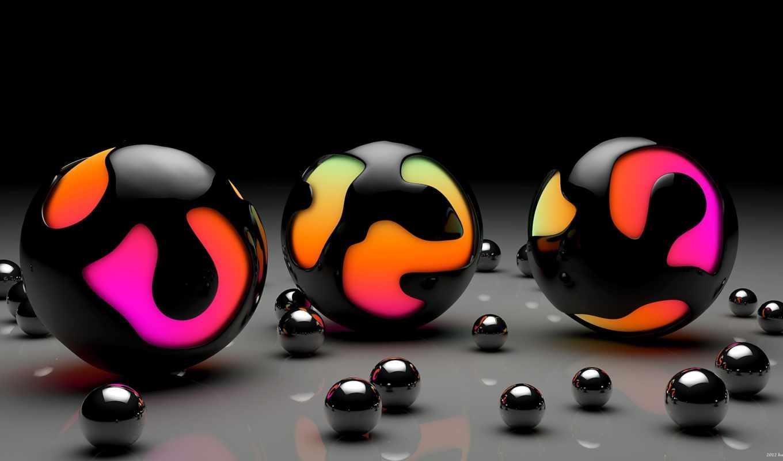 сфера, шар, арт, глянцевые, шарики, поверхность, similar, tags, просмотров, télécharger,