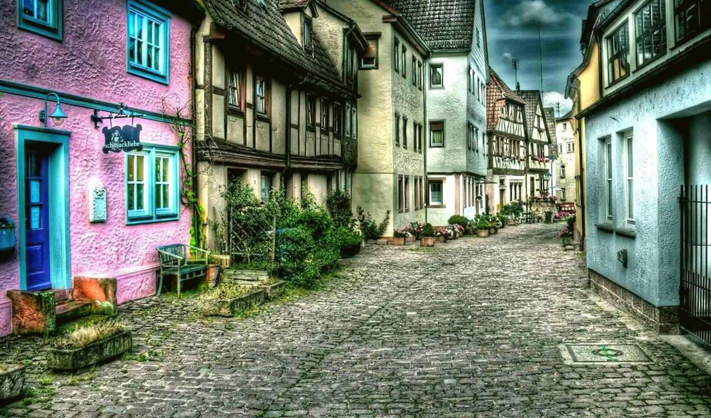 город, камней, улица, good, города, дорога, desktop, день, дома, streets, download, town, картинка,