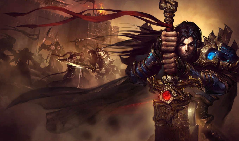 art, воин, тематика, меч, фантастики,