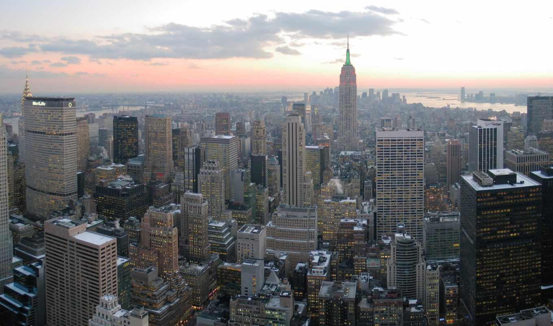 new, york, нью, manhattan, state, building, империя, usa,