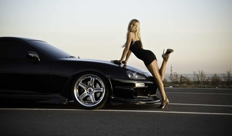 supra, девушка, toyota, car, cars, авто, hot, тонировка,