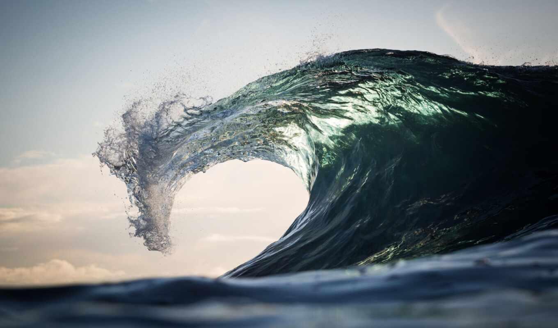 красивый, волна, самый, фотография, holst, только, пейзаж, картина, китай, океан, more