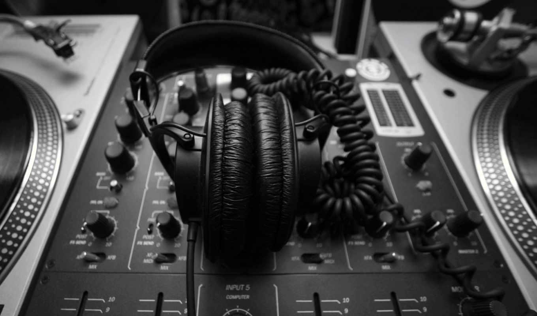 dj, обои, пульт, наушники, музыка, headphones, сти