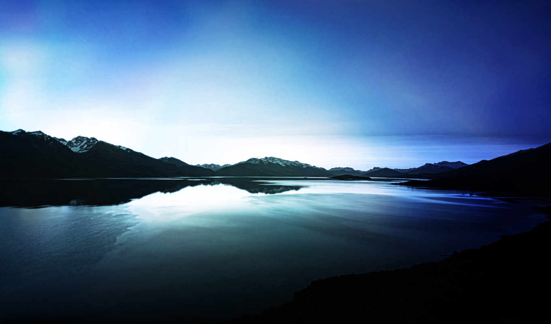 небо, dark, clouds, рассвет, утро, восход, озеро, free,