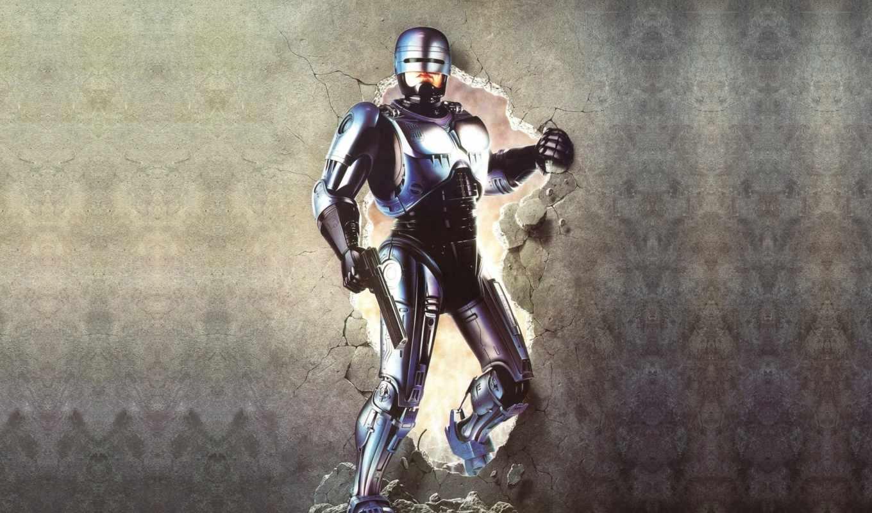 робот, полицейский, robocop, фильмы,