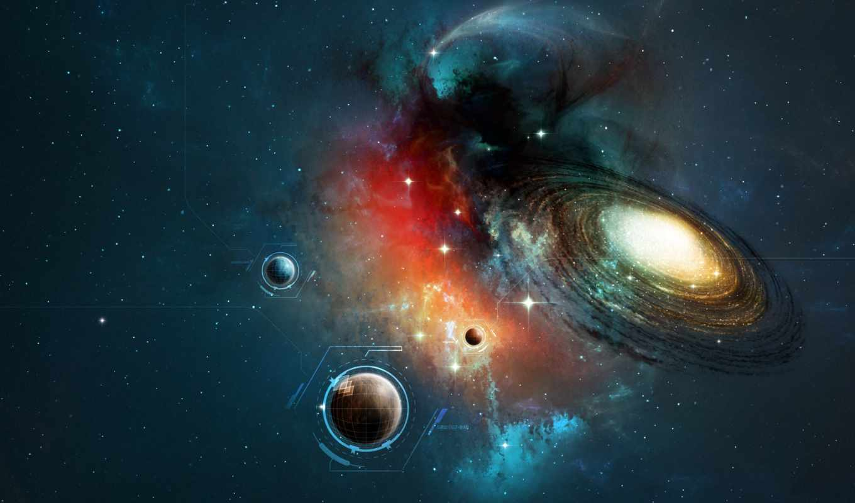 космос, widescreen, cosmos,