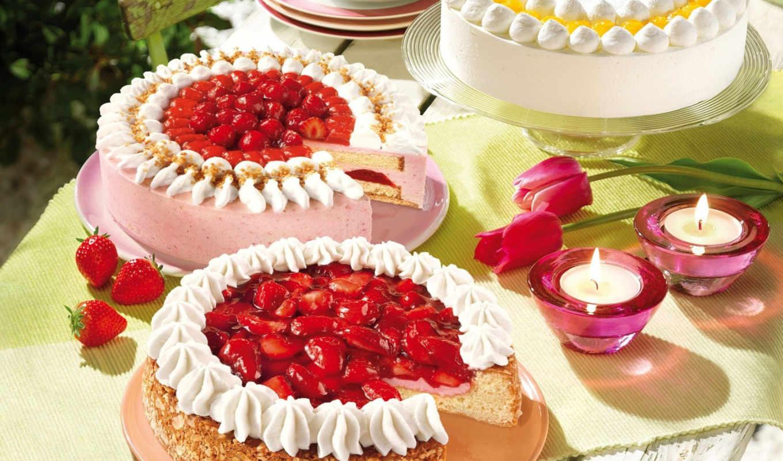 различных, фруктов, вкусняшек, одним, файлом, фрукты, еда, cake, strawberry, się,