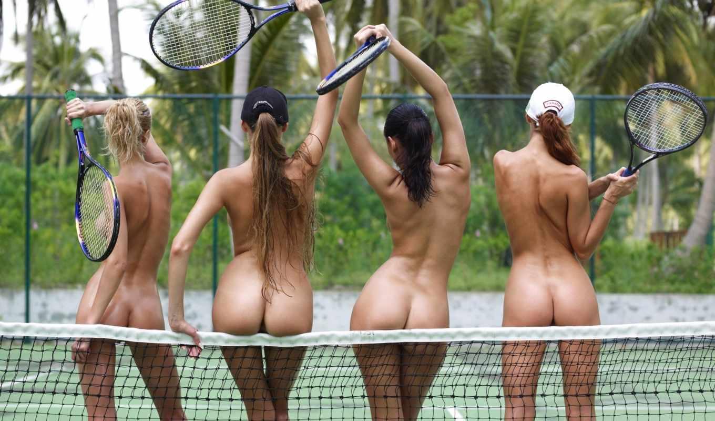 tennis, большой, красивый, funny, теннисистки,