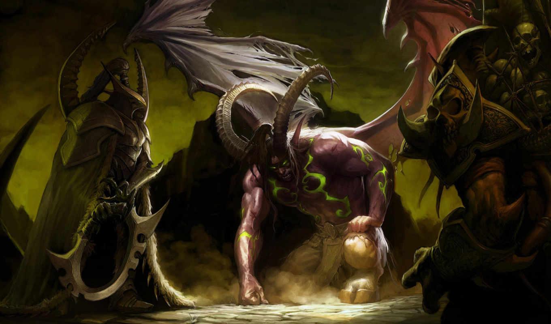 world, warcraft, wow, демонов, демон, game, legion, иллидан,