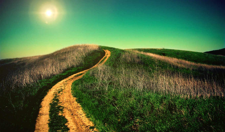 trail, дорога, running, run, sun, off, dirt, you,