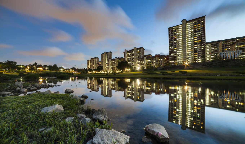 отражение, singapore