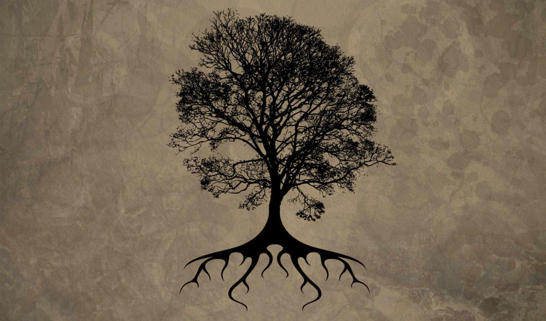 черный, лист, дерево, desktop, widescreen, pack, with, free, download,