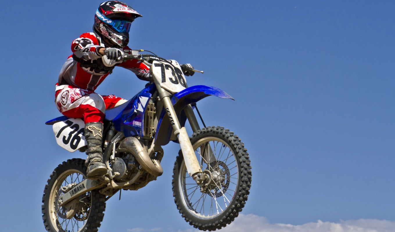 мотоцикл, мотокросс, спорт, шлем,