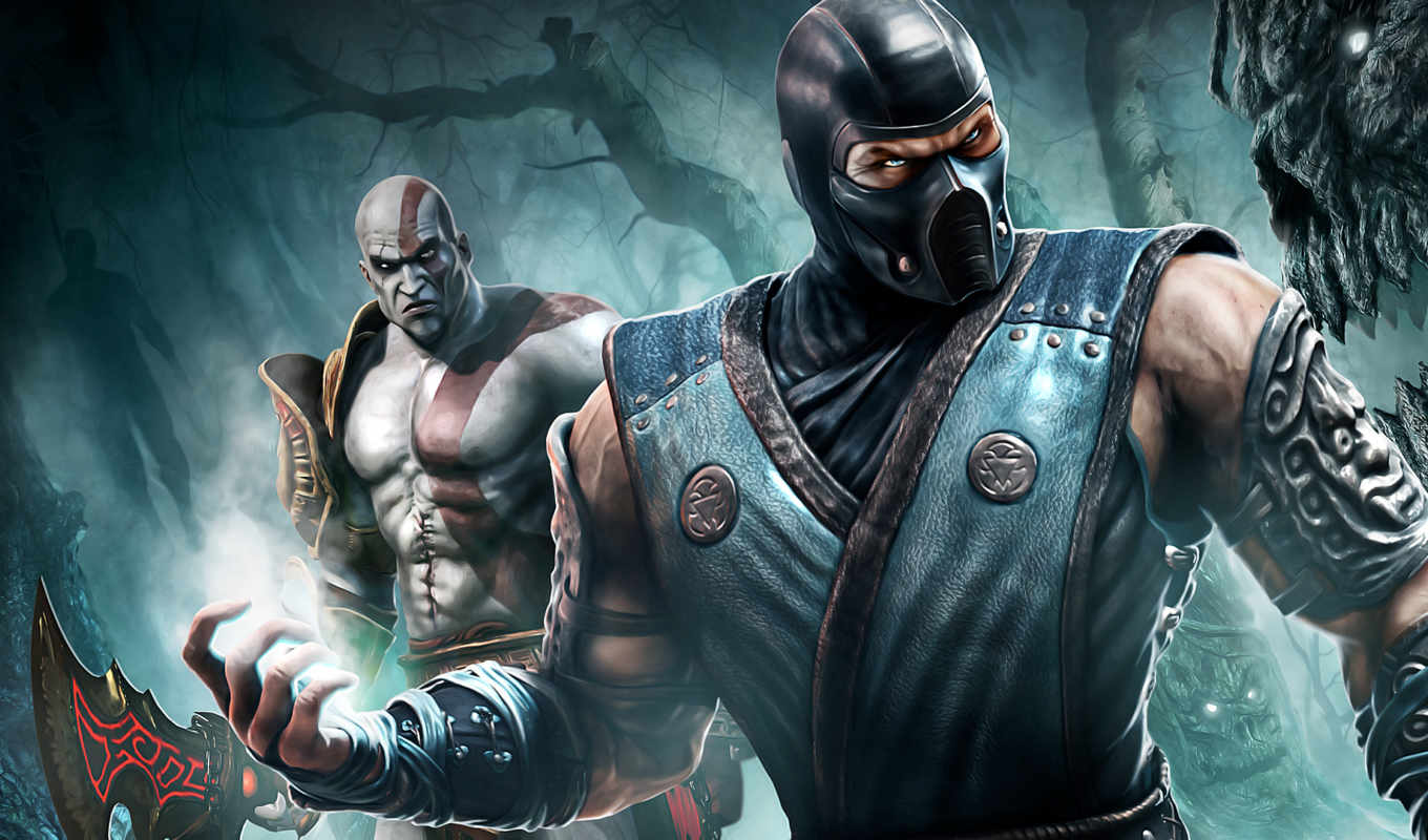 wallpapers, wallpaper, hd, mk, games, zero, игры, sub, mortal, kombat, зиро, саб, kratos,