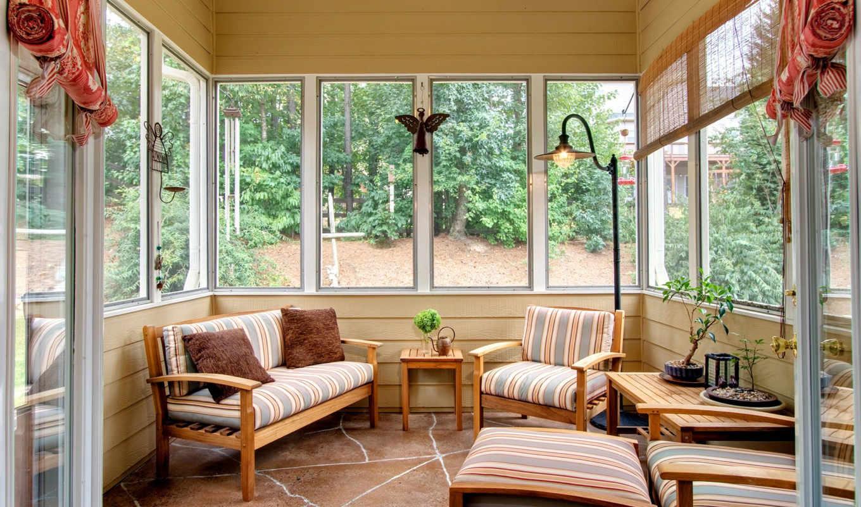 design, interior, sunroom, веранды, home, террасы, балконы,